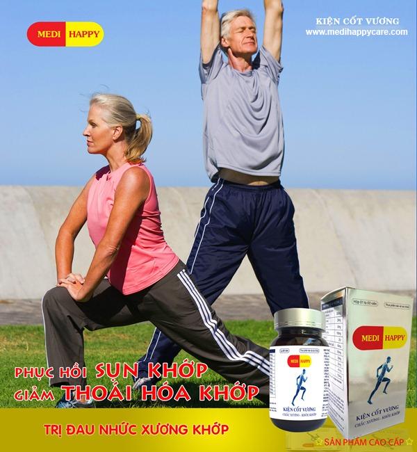Kiện Cốt Vương Medi Happy điều trị đau nhức xương khớp 3