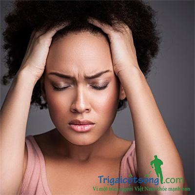 trị chứng đau đầu mãn tính