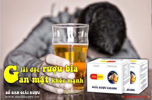 Thảo dược giải rượu bia Medi Happy
