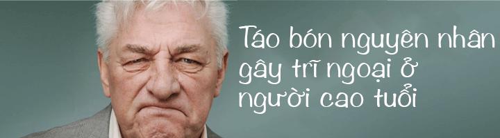 Nguyên nhân gây bệnh trĩ ngoại ở người cao tuổi