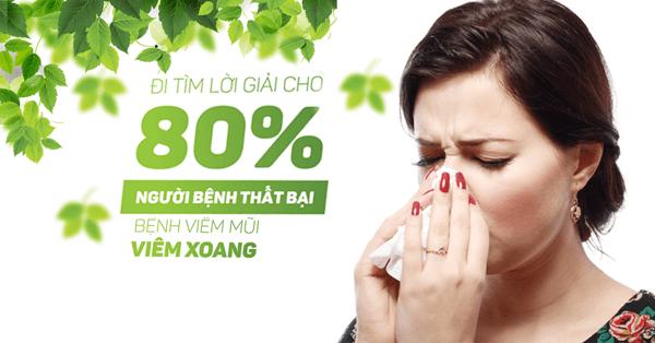 điều trị viêm mũi dị ứng